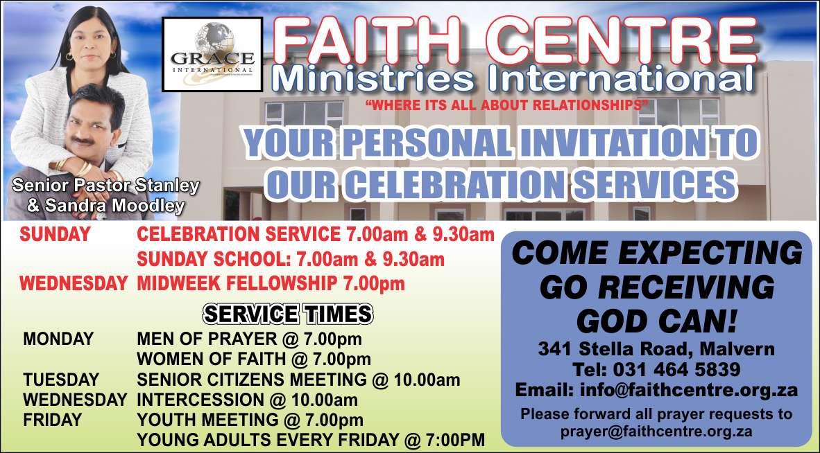 Faith Centre Ministries International